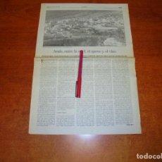 Coleccionismo de Revistas y Periódicos: RECORTE DE PRENSA 1995: ARAFO (TENERIFE) ENTRE LA MIEL, EL QUESO Y EL VINO. . Lote 194540905