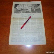 Coleccionismo de Revistas y Periódicos: RECORTE DE PRENSA 1995: RENOVADA DESPEDIDA DE LA ESCUELA DE COMERCIO (S/C DE TENERIFE). Lote 194540981