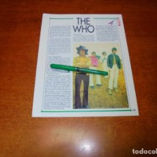 Coleccionismo de Revistas y Periódicos: CLIPPING 1991: THE WHO.. Lote 194541886