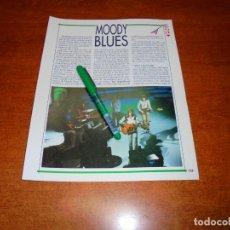 Coleccionismo de Revistas y Periódicos: CLIPPING 1991: MOODY BLUES. Lote 194542003