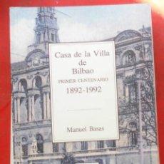 Coleccionismo de Revistas y Periódicos: TEMAS VIZCAINOS. CASA DE LA VILLA DE BILBAO. Lote 194543318