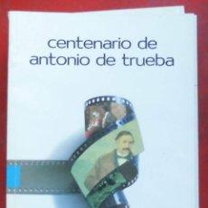 Coleccionismo de Revistas y Periódicos: TEMAS VIZCAINOS. CENTENARIO DE ANTONIO TRUEBA. Lote 194543323