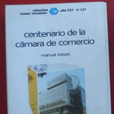 Coleccionismo de Revistas y Periódicos: TEMAS VIZCAINOS. CENTENARIO DE LA CAMARA DE COMERCIO. Lote 194543335