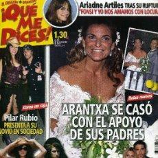 Coleccionismo de Revistas y Periódicos: QUE ME DICES Nº 601 - SEPTIEMBRE 2008. Lote 194548187