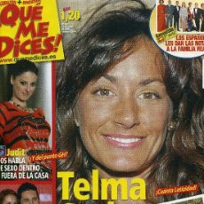 Coleccionismo de Revistas y Periódicos: QUE ME DICES - Nº 565 - ENERO 2008. Lote 194548296
