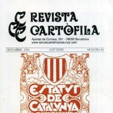 Coleccionismo de Revistas y Periódicos: REVISTA CARTÒFILA Nº 24. Lote 194548428