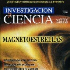 Coleccionismo de Revistas y Periódicos: INVESTIGACION Y CIENCIA - ABRIL 2003. Lote 194548522