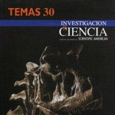 Coleccionismo de Revistas y Periódicos: INVESTIGACION Y CIENCIA - TEMA 30 DINOSAURIOS. Lote 194548702
