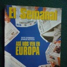 Coleccionismo de Revistas y Periódicos: SUPLEMENTO EL SEMANAL / ASÍ NOS VEN EN EUROPA / Nº 436 - 1996. Lote 194550122