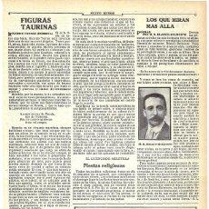 Coleccionismo de Revistas y Periódicos: 1911 HOJA REVISTA NUEVO LIBRO POESÍA DE MARCOS RAFAEL BLANCO-BELMONTE POETA DE CÓRDOBA. Lote 194558027