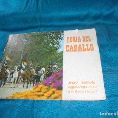 Coleccionismo de Revistas y Periódicos: FERIA DEL CABALLO. JEREZ, PRIMAVERA 1970. Lote 194565835