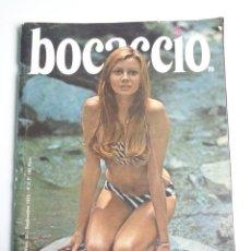 Coleccionismo de Revistas y Periódicos: REVISTA BOCACCIO - CON BONITAS FOTOS DE MARISOL EN LA PLAYA 1972. Lote 194572163