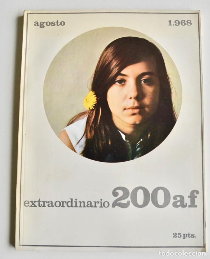 REVISTA 200 AF. Nº EXTRAORDINARIO, AGOSTO, 1968. CLÁSICOS DE LA FOTOGRAFÍA CONTEMPORÁNEA ESPAÑOLA (Coleccionismo - Revistas y Periódicos Modernos (a partir de 1.940) - Otros)