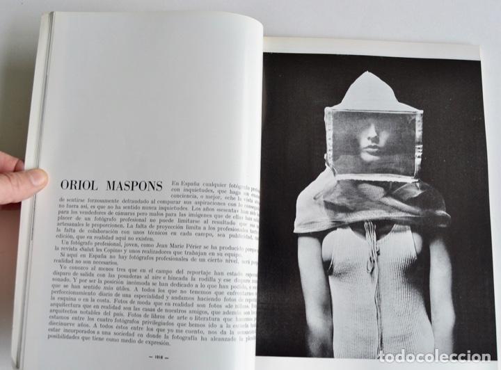 Coleccionismo de Revistas y Periódicos: Revista 200 AF. Nº Extraordinario, Agosto, 1968. Clásicos de la Fotografía Contemporánea Española - Foto 4 - 194575372
