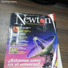 Coleccionismo de Revistas y Periódicos: REVISTA. NEWTON. Nº 4. AGOSTO 1998. ¿ ESTAMOS SOLOS EN EL UNIVERSO?. ULTIMOS PROYECTOS CIENTIFICOS. . Lote 194575388