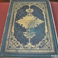 Coleccionismo de Revistas y Periódicos: ILUSTRACION ARTISTICA , PERIODICO SEMANAL DE LITERATURA ARTES Y CIENCIAS - TOMO IV AÑO 1885. Lote 194578991