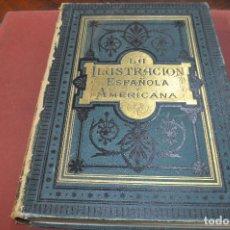 Coleccionismo de Revistas y Periódicos: LA ILUSTRACION ESPAÑOLA Y AMERICANA AÑO 1890 DEL NÚMERO 1 AL 48. Lote 194579831