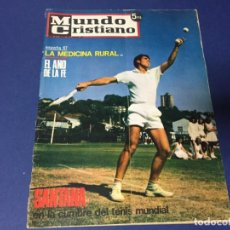 Coleccionismo de Revistas y Periódicos: MUNDO CRISTIANO JULIO 1967 MANOLO SANTANA BELL LLOC GERONA ANUNCIO MISTOL. Lote 194584610