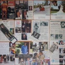Coleccionismo de Revistas y Periódicos: ARTURO FERNANDEZ LOTE PRENSA 1960S/90S FOTOS CLIPPINGS SPAIN ACTOR CINE ESPAÑOL. Lote 194589506