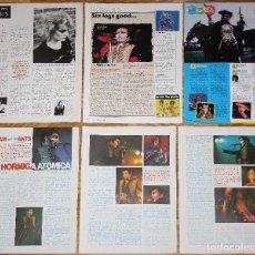 Coleccionismo de Revistas y Periódicos: ADAM & THE ANTS LOTE PRENSA CLIPPINGS PHOTOS MAGAZINE ARTICLES PHOTOS 1970S PUNK NEW WAVE. Lote 194590351