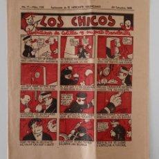 Coleccionismo de Revistas y Periódicos: SUPLEMENTO DE EL MERCANTIL VALENCIANO LOS CHICOS. Nº 303. 28 SEPTIEMBRE 1935. W. Lote 194602070