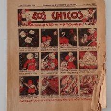 Coleccionismo de Revistas y Periódicos: SUPLEMENTO DE EL MERCANTIL VALENCIANO LOS CHICOS. Nº 338. 30 MAYO 1936. W. Lote 194606635