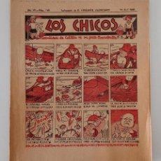 Coleccionismo de Revistas y Periódicos: SUPLEMENTO DE EL MERCANTIL VALENCIANO LOS CHICOS. Nº 340. 13 ABRIL 1936. W. Lote 194606755