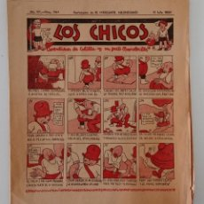Coleccionismo de Revistas y Periódicos: SUPLEMENTO DE EL MERCANTIL VALENCIANO LOS CHICOS. Nº 344. 11 JULIO 1936. W. Lote 194606867