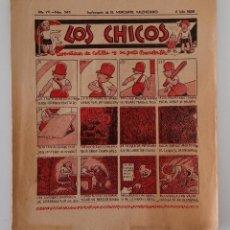 Coleccionismo de Revistas y Periódicos: SUPLEMENTO DE EL MERCANTIL VALENCIANO LOS CHICOS. Nº 343. 4 JULIO 1936. W. Lote 194606905