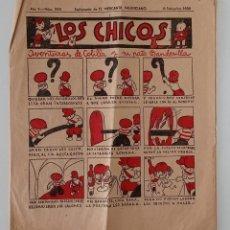 Coleccionismo de Revistas y Periódicos: SUPLEMENTO DE EL MERCANTIL VALENCIANO LOS CHICOS. Nº 248. 8 SEPTIEMBRE 1934. W. Lote 194607168
