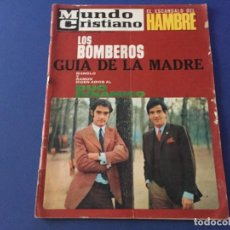 Coleccionismo de Revistas y Periódicos: MUNDO CRISTIANO 1968 DUO DINAMICO MARI TRINI BOMBEROS EL DOBLAJE GALLINA BLANCA. Lote 194607216