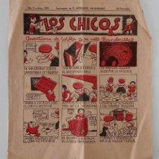 Coleccionismo de Revistas y Periódicos: SUPLEMENTO DE EL MERCANTIL VALENCIANO LOS CHICOS. Nº 263. 29 DICIEMBRE 1934. W. Lote 194607232