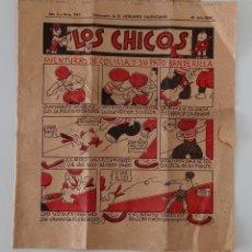 Coleccionismo de Revistas y Periódicos: SUPLEMENTO DE EL MERCANTIL VALENCIANO LOS CHICOS. Nº 242. 21 JULIO 1934. W. Lote 194607332