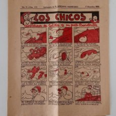 Coleccionismo de Revistas y Periódicos: SUPLEMENTO DE EL MERCANTIL VALENCIANO LOS CHICOS. Nº 313. 7 DICIEMBRE 1935. W. Lote 194607438