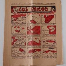 Coleccionismo de Revistas y Periódicos: SUPLEMENTO DE EL MERCANTIL VALENCIANO LOS CHICOS. Nº 312. 30 NOVIEMBRE 1935. W. Lote 194607960