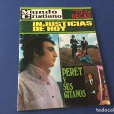 Coleccionismo de Revistas y Periódicos: MUNDO CRISTIANO OCTUBRE 1968 PERET BIO BRAVO. Lote 194608167