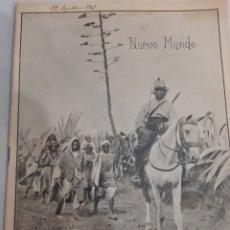 Coleccionismo de Revistas y Periódicos: 1907 REVISTA NUEVO MUNDO 714 .CASABLANCA .REY BILBAO ALTOS HORNOS..CONFLICTO MARRUECOS TEATRO.. Lote 194608258