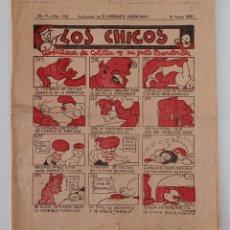 Coleccionismo de Revistas y Periódicos: SUPLEMENTO DE EL MERCANTIL VALENCIANO LOS CHICOS. Nº 296. 10 AGOSTO 1935. W. Lote 194608325