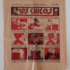 Coleccionismo de Revistas y Periódicos: SUPLEMENTO DE EL MERCANTIL VALENCIANO LOS CHICOS. Nº 246. 18 AGOSTO 1934. W. Lote 194608487