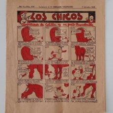 Coleccionismo de Revistas y Periódicos: SUPLEMENTO DE EL MERCANTIL VALENCIANO LOS CHICOS. Nº 300. 7 SEPTIEMBRE 1935. W. Lote 194608562