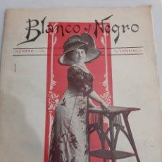 Coleccionismo de Revistas y Periódicos: BLANCO NEFRO REVISTA 1034 AÑO 1911 PUBLICIDAD LA TOS .CAMIA .REGALOS.MUBLES MODERNOS.CARNAVAL FALD.. Lote 194611547
