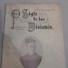 Coleccionismo de Revistas y Periódicos: BILBAO 1814 REVISTA EL SIGLO MISIONES NÚMERO 8. VOLCÁN KANGOXIMA.PIELES ROJAS.CIUDAD REAL..MAHARAJ .. Lote 194616216