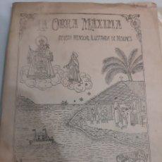 Coleccionismo de Revistas y Periódicos: PAMPLONA 1927 LA OBRA MÁXIMA REVISTA NUM76. Lote 194616717