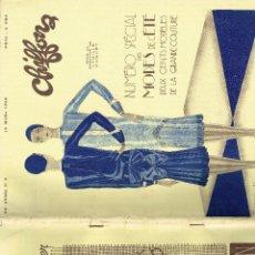 Coleccionismo de Revistas y Periódicos: CHIFFONS REVISTA MODA ESPECIAL VERANO MODES DE L'ÉTÉ PARIS 1929. Lote 194617095