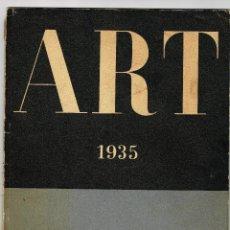Coleccionismo de Revistas y Periódicos: ART 1935 VOL II MAIG NUM.8 DIRECCIÓ JOAN MERLI JUNTA MUNICIPLA D'EXPOSICIONS D'ART. Lote 194619952