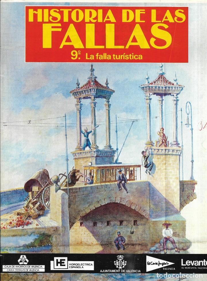 == R45 - HISTORIA DE LAS FALLAS - 9º LA FALLA TIRISTICA - 1990 (Coleccionismo - Revistas y Periódicos Modernos (a partir de 1.940) - Otros)