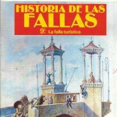 Coleccionismo de Revistas y Periódicos: == R45 - HISTORIA DE LAS FALLAS - 9º LA FALLA TIRISTICA - 1990. Lote 194620026