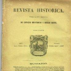 Coleccionismo de Revistas y Periódicos: REVISTA HISTÓRICA DE CIENCIAS 1878 LA TRATA Y AFRICA SORIA Y NUMANCIA. Lote 194621161