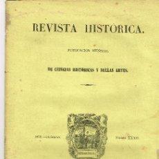 Coleccionismo de Revistas y Periódicos: REVISTA HISTÓRICA DE CIENCIAS 1886 RIPOLL POR PELLICER Y PAGÉS KALENDACIÓN ROMANA. Lote 194622213