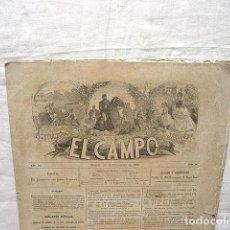 Coleccionismo de Revistas y Periódicos: REVISTA EL CAMPO-SIGLO XIX- CARRERAS CABALLOS MADRID-BOLETÍN SOCIEDAD FOMENTO CRÍA CABALLAR ESPAÑA. Lote 194624153